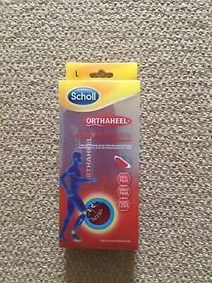 Scholl Orthaheel Regular Orthotic Size L BNIB
