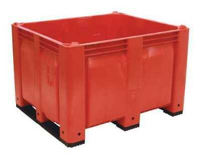 """DECADE PRODUCTS M40SRD3 Bulk Container, Red, 36-3/4""""W"""