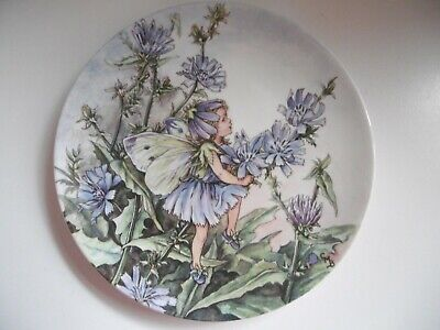 Wedgwood Porcelain Plate The Lilac Chicory Cicely Mary Barker Flower Fairies