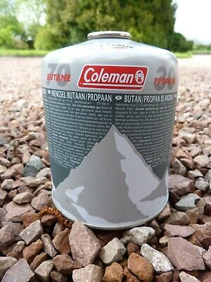 Coleman C500 Screw On Gas Cartridge 70/30 Butane/Propane Mix, lot of 5 canisters