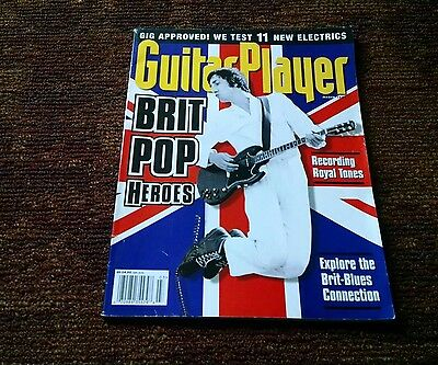 Guitar Player Magazine British pop heroes The Who Blues March 1993