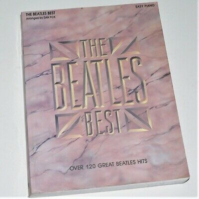 THE BEATLES 1 Sheet Music Easy Piano Book NEW 000307219 - $14 25