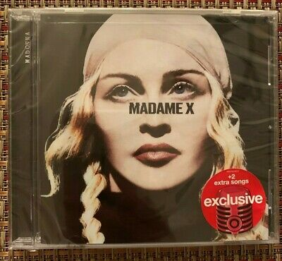Madonna Madame X Limited Edition Target Exclusive CD 2 Bonus Songs