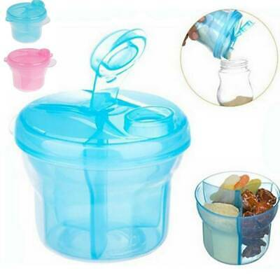 Avent Milk Powder Dispenser 3 Doses of Baby Formula Storage Snack Pots Container