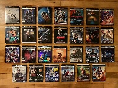 **YOUR CHOICE** Premium 4K UHD Blu-rays for Your Collection