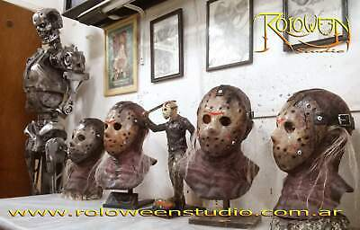 JASON VOORHEES FRIDAY 13th LATEX MASK HALLOWEEN COSTUME