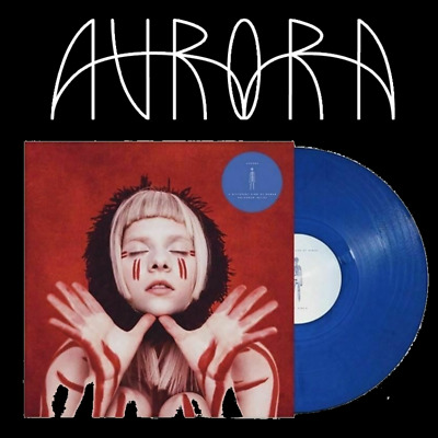 Aurora A Different Kind Of Human (Step II) 180 Gram, Blue Vinyl LP