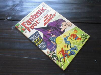 Fantastic Four # 21 - HIGHER GRADE - Intro The Hate Monger! 1st Fury Xover 1963