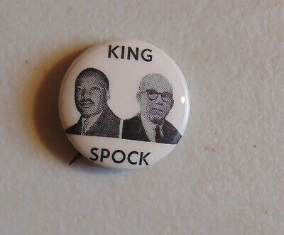 Martin Luther King Jr MLK 1968 campaign pin button political
