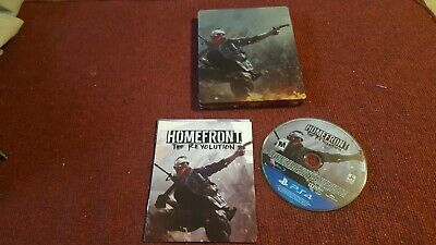Homefront the revolution ps4 Steelbook collectors PlayStation 4 game