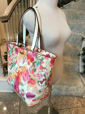 f9914245f Kate Spade New York Grant Street Grainy Vinyl Jules Giverny Floral WKRU2675