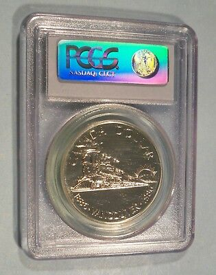 1986 Canada Silver Dollar Vancouver Pcgs Sp Ms 68 S$1