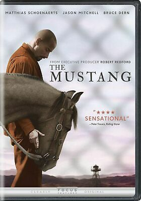 The Mustang (DVD 2019) Brand New! Free Ship!