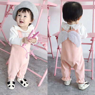 Baby Boy Girl Romper Sleeveless Bodysuit Toddler Jumpsuit Playsuit Outfit 3-24m
