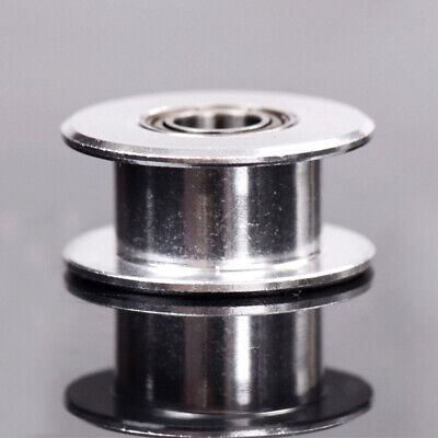 Toothed New Gt2 Printer Idler - 3d Belt 5mm Part And Smooth Wide Pulley Bore