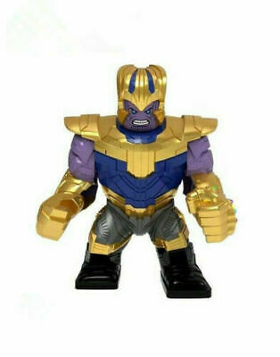 Avengers Gold Thanos Figure End Game Lego Fit Infinity Gauntlet Marvel
