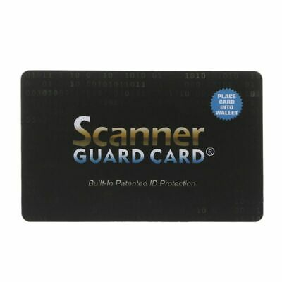 For Passport Case Credit Card Protector RFID Blocking NFC Signals Shield Secure
