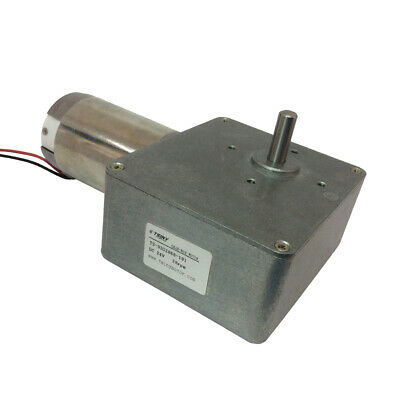 DC12V/24V High Torque Electric Worm Gear Motor Reducer With Gearbox Gear Reducer