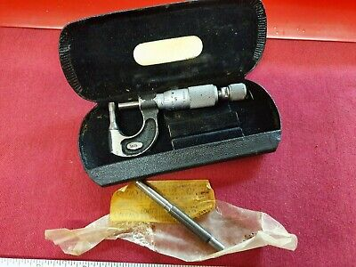 Vintage & Rare Moore & Wright Tube Micrometer in Fair Condition Ref 916 Boxed