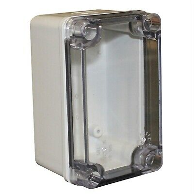 CamdenBoss CHDX6-324C X6 Series ABS Transparent Lid 130x80x85 IP66/67