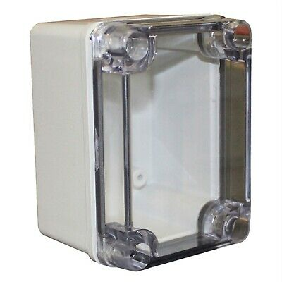 CamdenBoss CHDX6-322C X6 Series ABS Transparent Lid 110x80x85 IP66/67