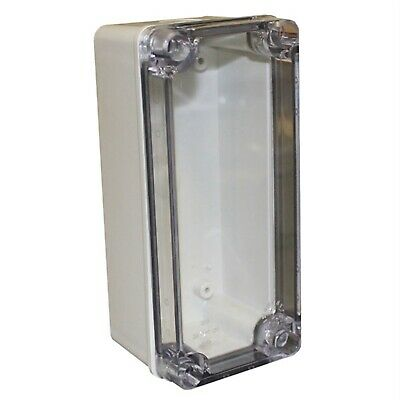 CamdenBoss CHDX6-226C X6 Series Polycarb Transparent Lid 180x80x85 IP66/67