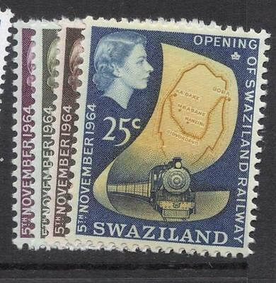 Swaziland Train Railway SG 109-12 MNH (1dfe)