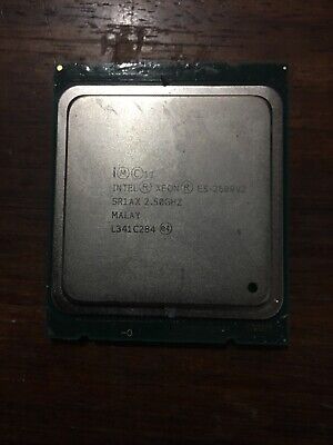 Intel Xeon E5-2609 v2 SR1AX 2.50 GHz/10MB Socket LGA 2011 Quad CPU Processor