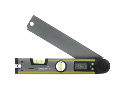 GENERAL  ToolSmart  12 in. L x 2 in. W Bluetooth Digital Angle Finder