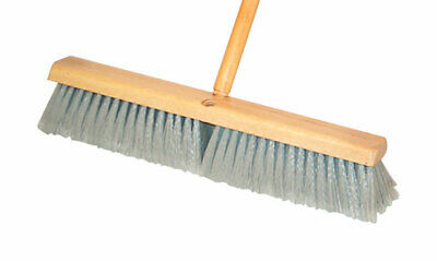 DQB  Push Broom  18 in. W x 60 in. L Synthetic