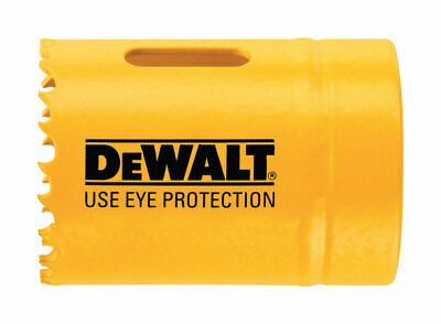 DeWalt  1-1/8 in. Dia. x 1.75 in. L Bi-Metal  Hole Saw  1/4 in. 1 pc.