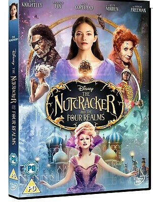 The Nutcracker And The Four Realms UK DVD FAST & FREE