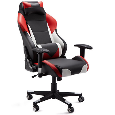 SLYPNOS Gaming Chair, Racing Style Ergonomic PC Computer, Executive Office Desk