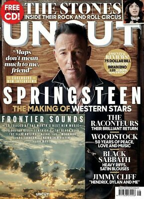 Uncut Magazine - Issue 267 - August 2019 - Bruce Springsteen, Rolling Stones
