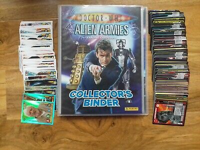 Dr Who Alien Armies and Monster Invasion Cards and Folder