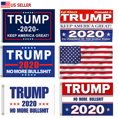 2020 Donald Trump Flag Keep/Make America Great Again MAGA U.S.USA 3x5 ft Reelect