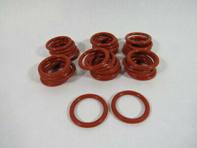 Able Seal 2-324S700-FDA Silicon O-Ring 34.29mm ID 44.96mm OD Lot of 32 ! WOW !