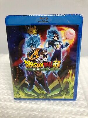 DragonBall Super Broly (Blu-ray+DVD+Digital) Dragon Ball Blu Ray DVD & Digital
