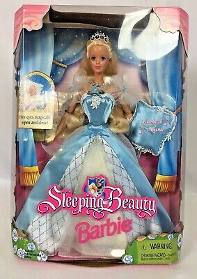 BARBIE DOLL SLEEPING BEAUTY BARBIE DOLL Vintage 1998 MATTEL 20489
