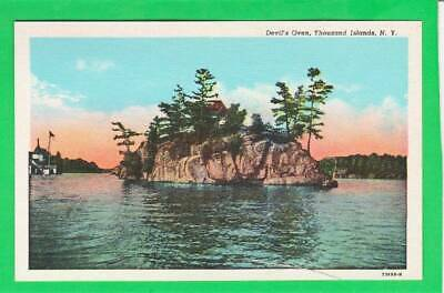 Postcard ~ Devils Oven Thousand Islands NY ~ Vintage 7038