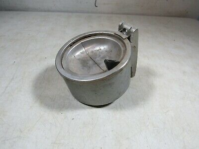 Vintage Metal Duk-It Small Wall Mount Trap Door Ashtray Buffalo NY