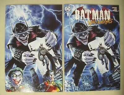 Batman Who Laughs #1 Mike Mayhew Homage Variant Set Trade Dress & Virgin