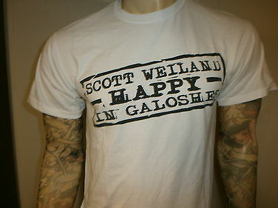 Scott Weiland Happy in Galoshes T Shirt Promo Concerto Stp Stone Temple Pilots