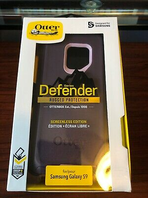 NEW Otterbox Defender SCREENLESS Edition Case for Samsung Galaxy S9 PURPLE