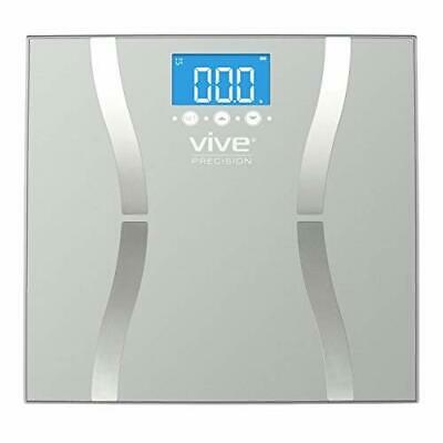 400lb LCD Digital Bathroom Smart Body Fat Weight Scale Health Fitness Muscle BMI