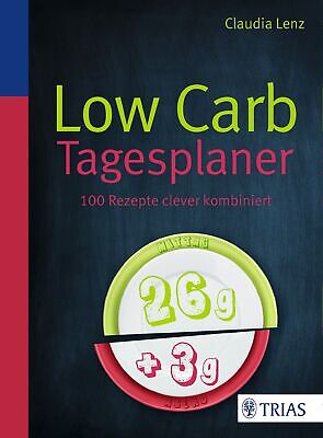 Low Carb Tagesplaner, Claudia Lenz