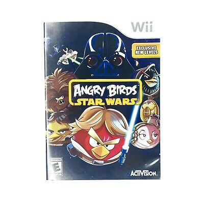Angry Birds Star Wars Nintendo  Wii Game No Manuel