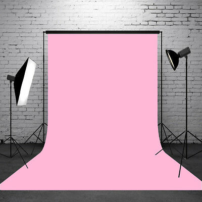 5x7FT Pure Pink Color Photography Background Backdrop Photo For Studio Props
