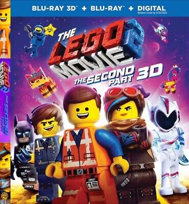 Lego Movie - The Second Part Full Hd 3D Blu-Ray Disc
