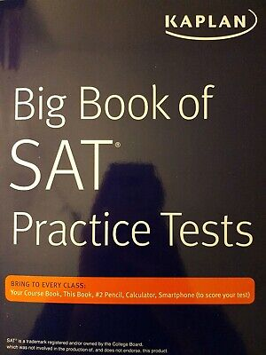 KAPLAN COURSE BOOK and Big Book of ACT Practice Tests (2) ISBN978-1
